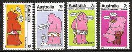 AUSTRALIA 1973 - Metric Conversion / Temp. Volume Mass Length - SALE! 4v Mi 513-16 ** MNH Cv€2,00 K116 - Neufs