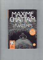 AUDIOLIB LIVRE A ECOUTER LEVIATEMPS DE MAXIME CHATTAM LU PAR VINCENT DE BOUARD PRIX NEUF 23.30 EUROS - CDs