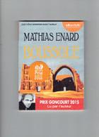 AUDIOLIB LIVRE A ECOUTER BOUSSOLE DE MATHIAS ENARD LU PAR L AUTEUR - CD