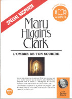 AUDIOLIB LIVRE A ECOUTER L OMBRE DE TON SOURIRE DE MARY HIGGINS CLARK LU PAR CAROLINE BEAUNE - CD