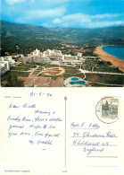Becici, Croatia Postcard Posted 1974 Stamp - Kroatien
