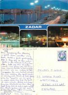 Zadar, Croatia Postcard Posted 1988 Stamp - Croatia