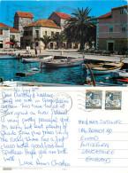 Stari Grad, Croatia Postcard Posted 1988 Stamp - Kroatien