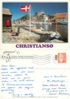 Christianso, Bornholm, Denmark Postcard Posted 2002 Stamp - Denmark