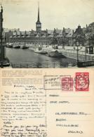 Borsen, Copenhagen, Denmark Postcard Posted 1960 Stamp - Denmark