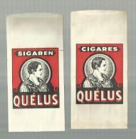 -  1  X SIGARENZAKJE - ***QUELUS *** - Étuis à Cigares