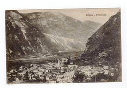 GRIGNO Panorama Viaggiata 1920 Rara - Trento