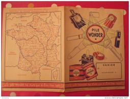 Protège-cahier Pile Wonder. Vers 1950. - Buvards, Protège-cahiers Illustrés