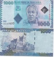 Tanzania - 1000 Shillings 2010 UNC Lemberg-Zp - Tanzania