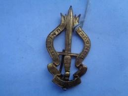Réf: 98-16-123.              Insigne Commando Belge    -   United  Conquier. - Armée De Terre