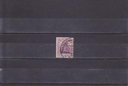 OCCUPATION ALLEMANDE/OBLITéRé/75 C SUR 60C LILAS/N°34 YVERT ET TELLIER 1916-17 - WW I
