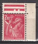 FRANCE 1944 - Y.T. N° 654  - NEUF** D9 - France