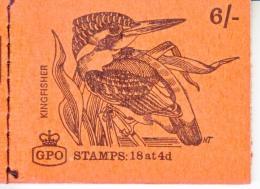 GREAT  BRITIAN  BK 115  BOOKLET  **  UN-OPENED   BIRD - Booklets