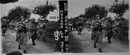 Photographie - Plaque De Verre - Guerre 14/18 - Corvée De Pain  (B 513-1, Lot 1) - Glasplaten