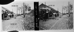 Photographie - Plaque De Verre - Guerre 14/18 - L'Exode (B 513-1, Lot 1) - Glasplaten