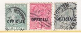 JAMAICA  OFFICIALS  O 2-4  (o) - Jamaica (...-1961)