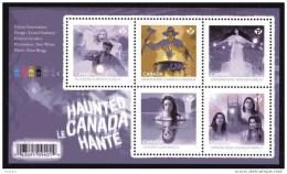 CANADA 2016, HAUNTED CANADA See Description Below, MNH