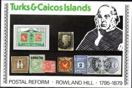 BF190 -  TURKS ET CAICOS 1979 R.HILL YVERT N° B16 ***  MNH . - Turks E Caicos