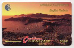 ANTIGUA & BARBUDA REF MVCARDS ANT-13Da CABLE & WIRELESS 60$ 13CATD English Harbour - Antigua Et Barbuda