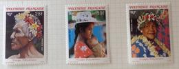 French Polynesia - 1987 MH* # 452/454 - French Polynesia
