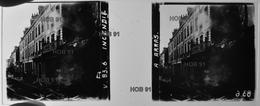 Photographie - Plaque De Verre - Guerre 14/18 - ARRAS (62 - Pas De Calais) - Incendie  (B 513-1, Lot 1) - Glass Slides