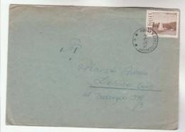 1971 Porau Czestochowy POLAND COVER Stamps SAILING BOAT, WARSAW BRIDGE, Sport - 1944-.... Republic