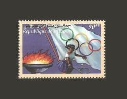 DJIBOUTI OLYMPICS OLYMPIC GAMES JEUX OLYMPIQUES OLYMPIQUE JO SYDNEY 1998 2000 MNH ** RARE - Zomer 2000: Sydney