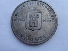Réf: 98-16-291.      GOSSELIES   Cercle Des Collectionneurs. 1967-1977  Bon De 10 Ces-Caisse Communale - Obj. 'Souvenir De'