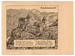 Autriche-Buchberg Bei Herberstein-1956--Burg Herberstein En 1420 D'après Dessin,cpsm 15 X 10 éd  ????--pas Très Courante - Autriche
