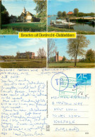 Dubbeldam, Dordrecht, Zuid-Holland, Netherlands Postcard Posted 1982 Stamp + Postage Due Markings - Dordrecht