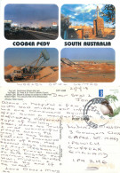 Coober Pedy, South Australia, Australia Postcard Posted 2013 Stamp - Coober Pedy