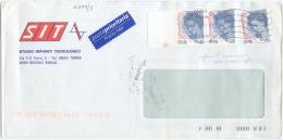 2005 DONNE 0,20 + 0,20spa COPPIA BUSTA 26.10.05 TARIFFA PRIORITARIA RARA MISTA TIMBRO ARRIVO E OTTIMA QUALITÀ (839) - 6. 1946-.. Repubblica