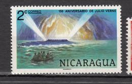 Nicaragua, Sous-marin, Submarine, Bateau, Boat, Jules Verne, Julio Verne, écrivain, Writter, Caverne, Cave, Cavern