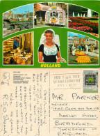 Multiview, Netherlands Postcard Posted 1970 Stamp - Netherlands