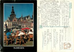 Grote Markt, Nijmegen, Gelderland, Netherlands Postcard Posted 1995 Stamp - Nijmegen