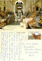 Vegetable Market, Guernsey Postcard Posted 1980 Stamp - Guernsey