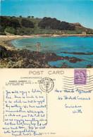 Portelet Bay, Guernsey Postcard Posted 1965 Stamp - Guernsey