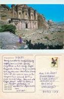 El Dir, Petra, Jordan Postcard Posted 1997 Stamp
