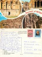 Petra, Jordan Postcard Posted 1992 Stamp
