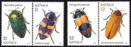 AUSTRALIA 2016 INSECTS BUGS 4v  MNH** - 2010-... Elizabeth II