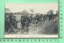 MILITARIA: Guerre 1914 Compagnie De Chasseurs Cyclistes - Guerre 1914-18