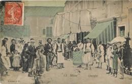 MEZE CHEVALET  EDITION B.D. VOYAGEE 1908 - Mèze
