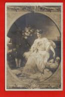 Tableau - Peintre - Salon De 1909 - D. Etcheverry - Galant Message - Pintura & Cuadros