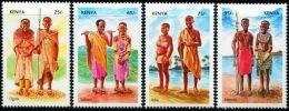 KE0201 Kenya 2007 National Costume 4v MNH - Kenia (1963-...)