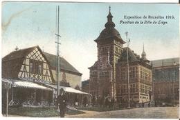 Bruxelles / Brussel - Exposition 1910 - Pavilion De La Ville De Liège - Expositions Universelles