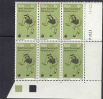 South Africa RSA - 1976 - Sports Bowls World Tournament Championships - Control Block