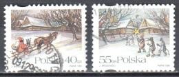 Poland 1996 - Christmas - Mi 3627-28 - Used Gestempelt - Used Stamps