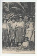 5CPA 972- GROUPE DE CREOLES DEGUISEES EN COSTUMES DE CARNAVAL - Martinique