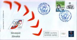OLIMPIADI DI SYDNEY 2000 - FDC