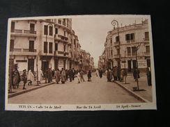 Marokko  Tetuan Rue Du 14 April.. * - Otros